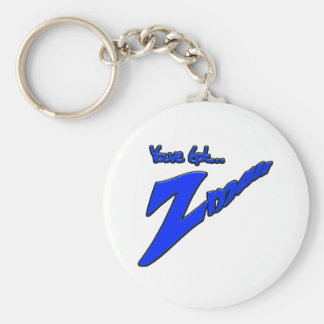 Youve Got Z-mail-The funny fad thats real Basic Round Button Key Ring