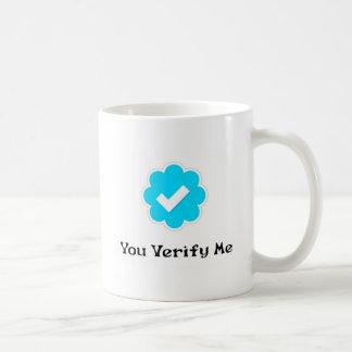 #YouVerifyMe Coffee Mug