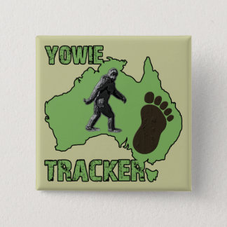 Yowie Tracker 15 Cm Square Badge