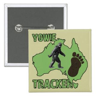 Yowie Tracker 15 Cm Square Badge