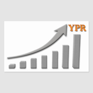 YPR Success Chart Rectangular Sticker