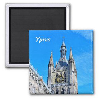 Ypres Cloth Hall Refrigerator Magnets