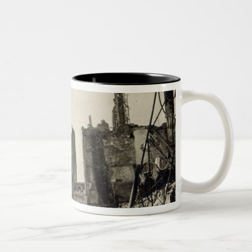 Ypres from Rue de Ville, June 1915 Coffee Mug