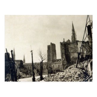Ypres from Rue de Ville, June 1915 Postcard