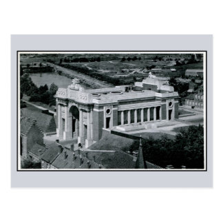 Ypres Menin Gate Memorial for British aerial Postcard