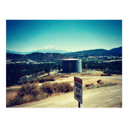 Yreka California Postcard