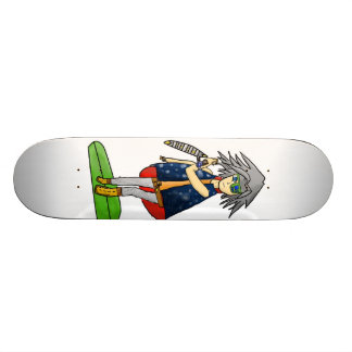 yu-gi-oh fan art skateboard