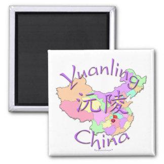 Yuanling China Square Magnet