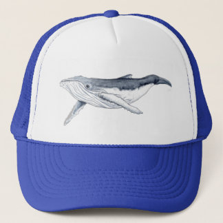 Yubarta drinks whale trucker hat
