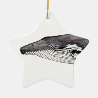 Yubarta, hunchbacked whale christmas ornament