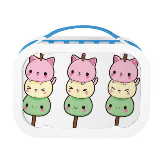 Yubo Lunchbox, Blue Lunchboxes