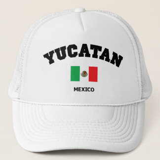 Yucatan Block Trucker Hat