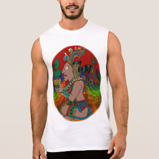 Yucatan Psychedelic Mexicano Visiones Sleeveless Shirt