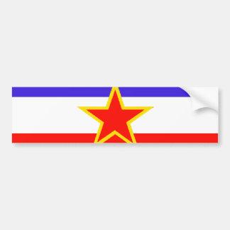 Yugoslavia Bumper Stickers