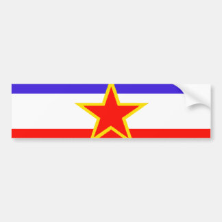 Yugoslavia Bumper Sticker