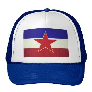 Yugoslavia flag cap