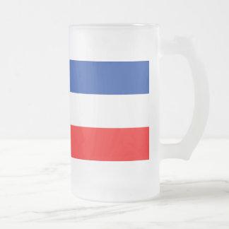 Yugoslavia Flag Coffee Mugs