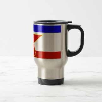 Yugoslavia Flag Travel Mug