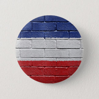 Yugoslavia Kingdom Flag 6 Cm Round Badge