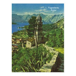 Yugoslavia, Kotor Postcard