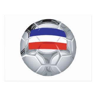 Yugoslavian Soccer Ball Postcard