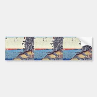 Yui by Ando, Hiroshige Ukiyoe Bumper Sticker