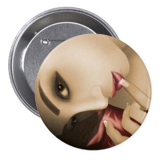 Yuki 7.5 Cm Round Badge