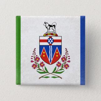 Yukon 15 Cm Square Badge