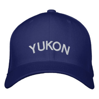 Yukon Baseball Cap Embroidered Canada Cap