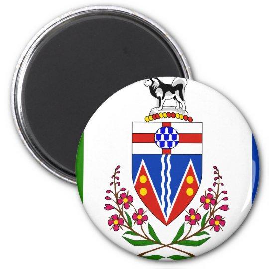 Yukon flag magnet