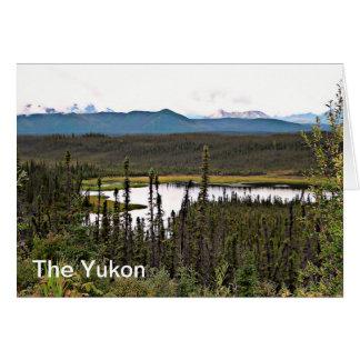 Yukon Pond Greeting Card