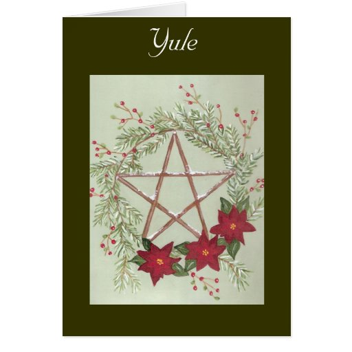 Yule Blessing Cards
