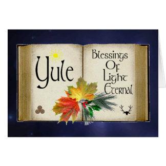 Yule - Blessings Of Light Card