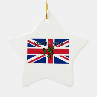 Yule Britannia Christmas Ornament