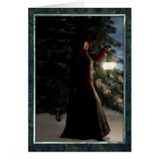 Yule by winters light card