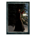 Yule by winters light greeting card