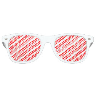 Yule Cool Candy Cane for Donaldus Retro Sunglasses