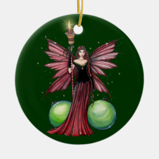Yule Fairy Christmas Ornament