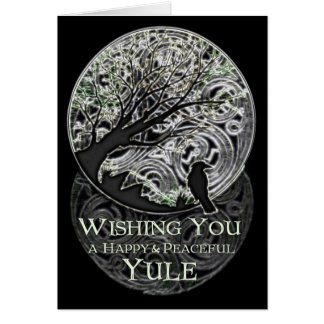 Yule Greetings Card