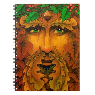 Yule King Spiral Notebook