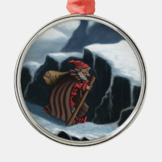 yule lad mountains christmas ornament