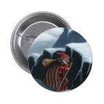 yule lad mountains pinback button