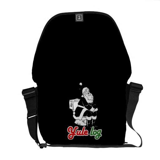 YULE LOG COURIER BAGS