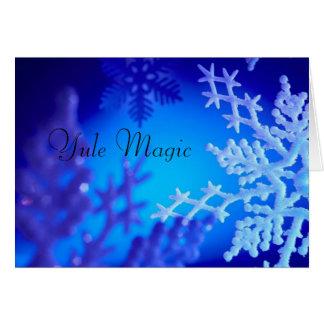 Yule Magic Card