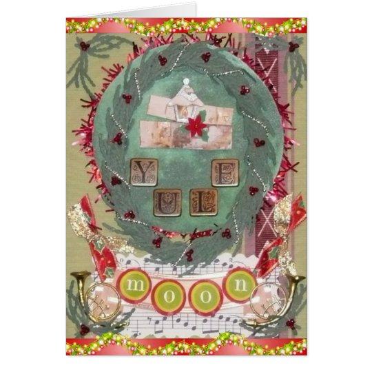 Yule Moon Card