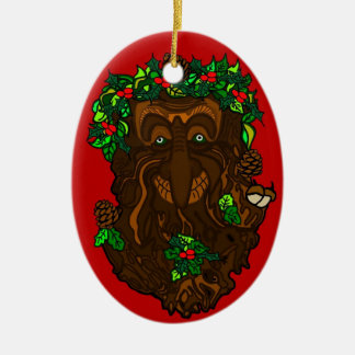 Yule Pagan GreenMan Decoration