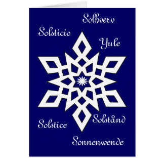 Yule - Solstice - It's Universal Greeting Card