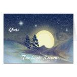 Yule-The Light Returns Greeting Card