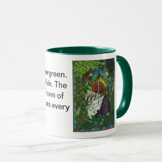 Yule,The Oak King and the Holly King Mug
