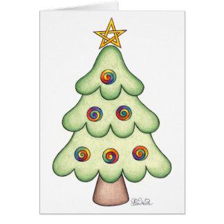 Yule Tree Card